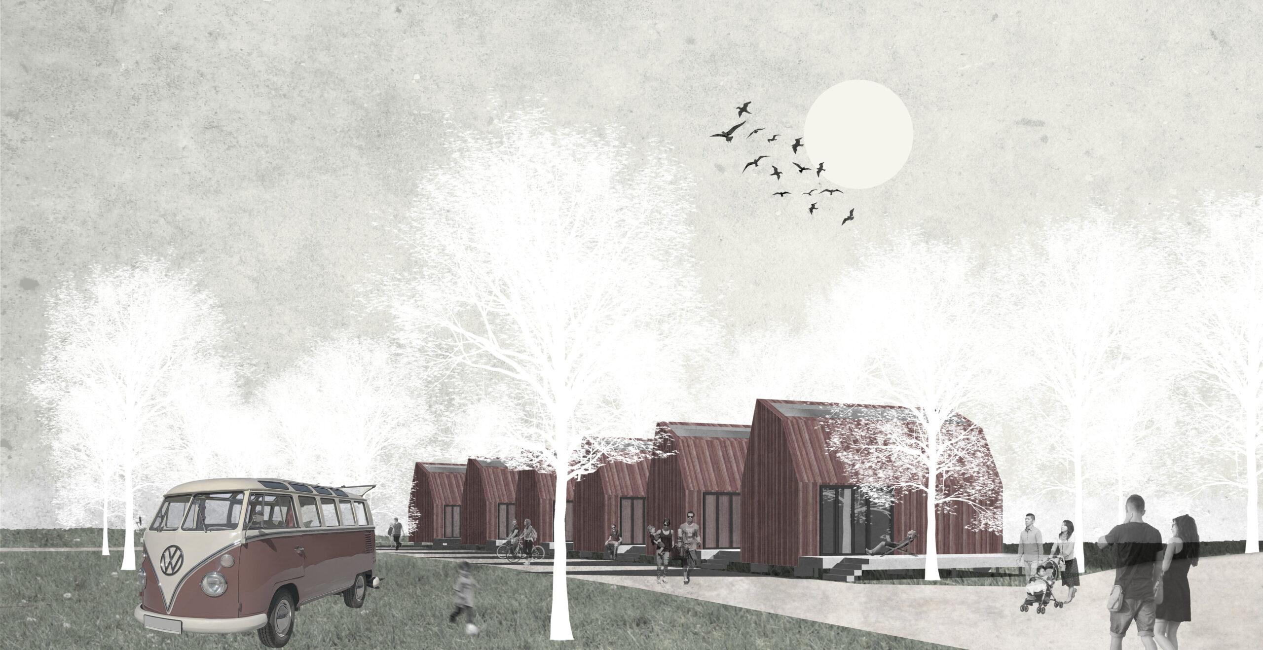 Visualisierung Tiny House